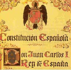 A CONSTITUCIÓN ESPAÑOLA DE 1978