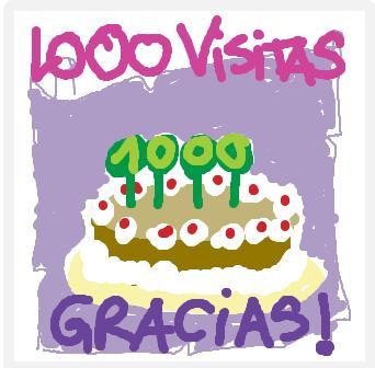 1000 visitas. Grazas!