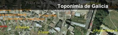 Novo web de toponimia de Galicia