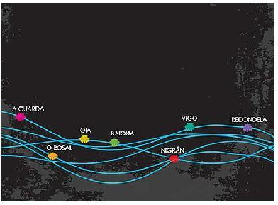 Guía de peregrinación por onda o mar