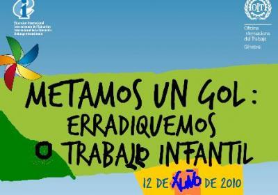 12 de xuño. Día Mundial Contra o Traballo Infantil