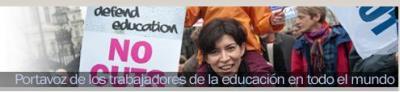 Web da Internacional da Educación